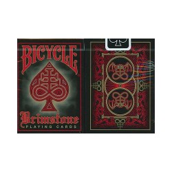 Cartes Bicycle Brimstone Rouge