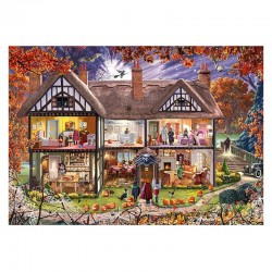 Halloween House - MicroPuzzle 40p bois Wentworth