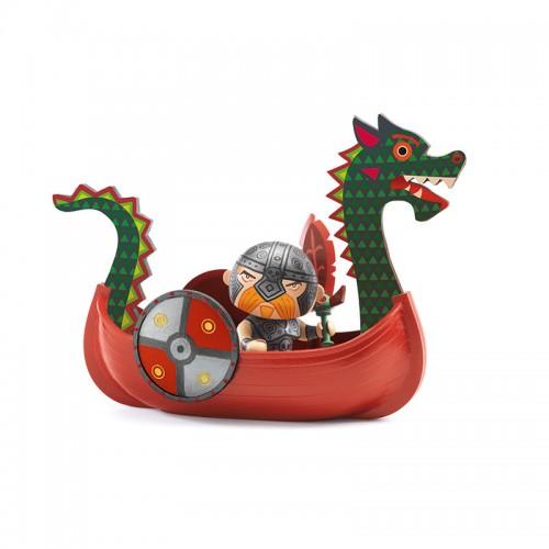 Arty Toys : Drack & Ze drakkar