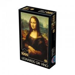 Puzzle Mona Lisa (L. de Vinci)