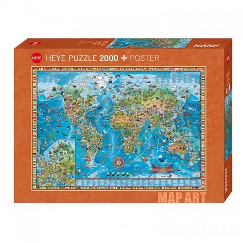 Puzzle Amazing World 2000p