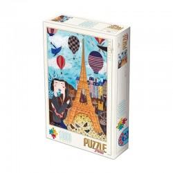 Puzzle D-toys andrea kurti-paris 1000p