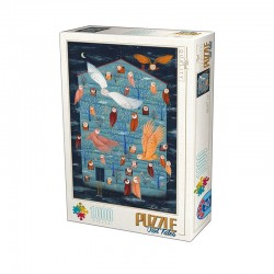Puzzle andrea kurti-Owl Tales Family