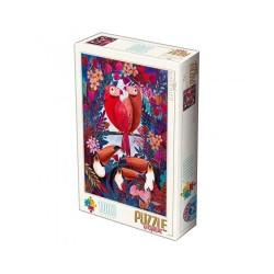 Puzzle D-toys andrea kurti-Oiseaux Tropicaux 1000p