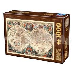 Puzzle Vintage Map