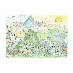 Puzzle Delle Formiche : Montagne
