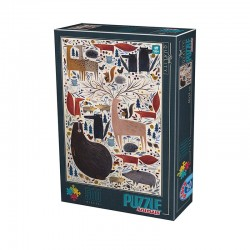 Puzzle D-toys Andrea Kurti Animaux sauvages