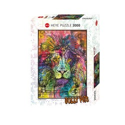 Puzzle Jolly Pets - Lions Heart