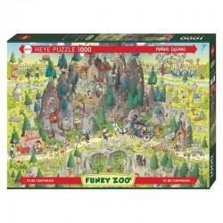 Puzzle Funky Zoo : Transylvanian Habitat (Degano)