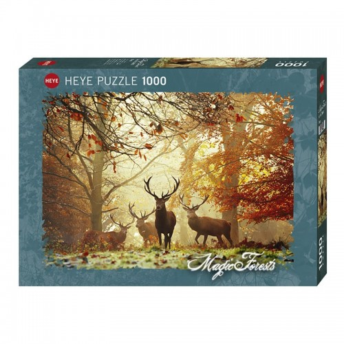 Puzzle Magic Forests : Stags