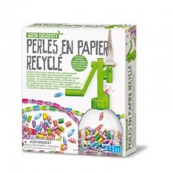 Green Creativity : Perles en papier recyclé