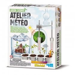 Kidzlabs Green Science : Atelier météo