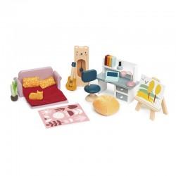 Meubles de poupées : Salle d'étude