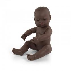 Poupée bébé fille africaine 40cm