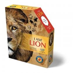 Puzzle I am : lion
