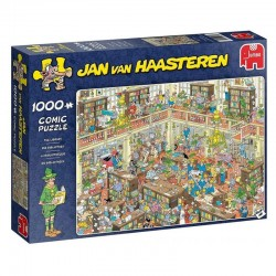 The Library (Jan Van Haasteren)