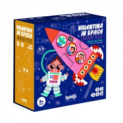 Primo puzzle Valentina in space
