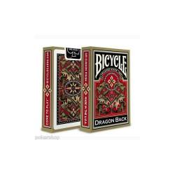 Cartes Bicycle Dragon Back Gold