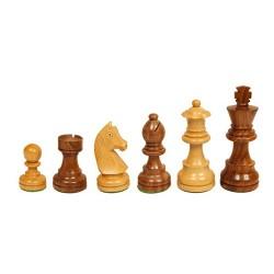 Pièces échecs Staunton buis/acacia n°5