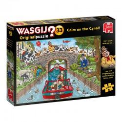 Wasgij-Original : Calm on the canal!