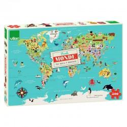 Carte du monde puzzle 500p