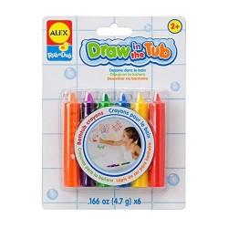 Crayons pour le bain (6 pièces)