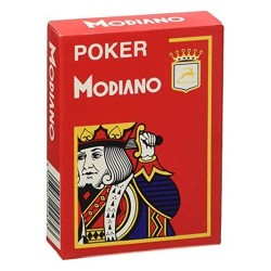 Cartes Modiano 4 Index 100% plastique
