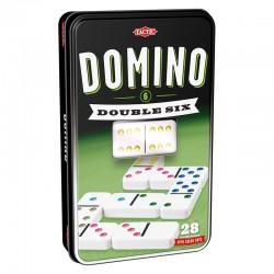 Domino Double 6 Boîte métal