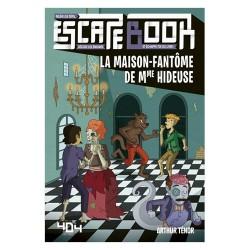 Escape Book Junior La Maison fantôme de Mme Hideuse