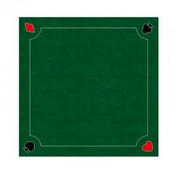 Tapis 60cm Coeur de pique Vert