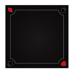 Tapis 60cm Coeur de pique Noir
