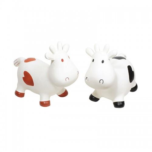 Vache sauteuse