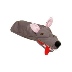 Marionnette en tissu loup