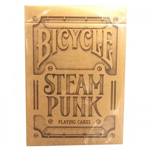 Bicycle : Steampunk Silver/Bronze