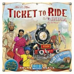 Les Aventuriers du Rail : Inde/Suisse