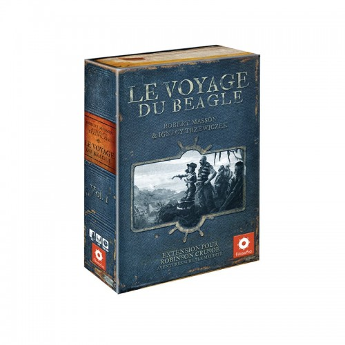 Robinson Crusoë : Le Voyage du Beagle