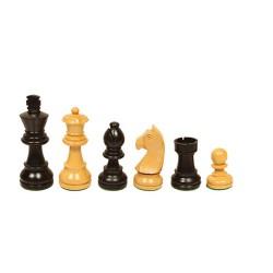 Pièces échecs Staunton buis/ébonisé