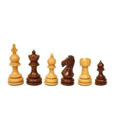Pièces échecs Taj buis/bois de rose