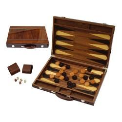 Backgammon bois marqueté luxe 46cm