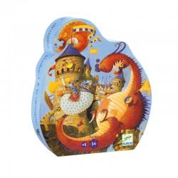 Puzzle silhouette : Vaillant et les dragons
