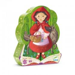 Puzzle silhouette : Le Petit Chaperon rouge