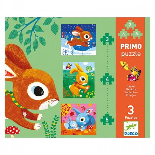 Puzzle Primo : Lapins