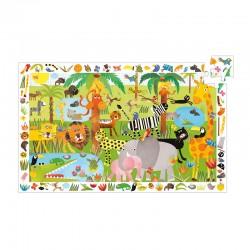 Puzzle Observation : La jungle