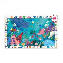 Puzzle Observation : Aquatique