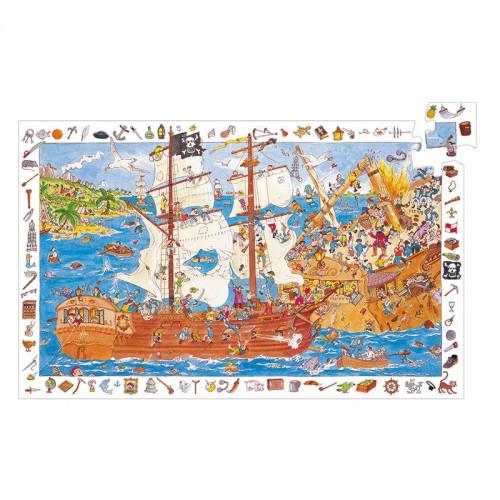 Puzzle Observation : Les pirates