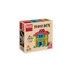 Bioblo Mini Box 40 briques blanc vert