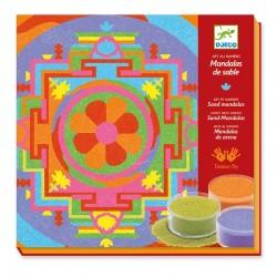 Sables colorés : Mandalas tibétains