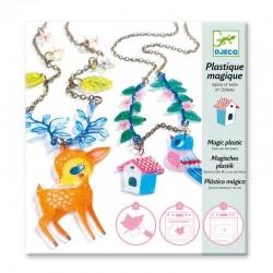 Plastique magique: Kit à bijoux Le faon et l'oiseau