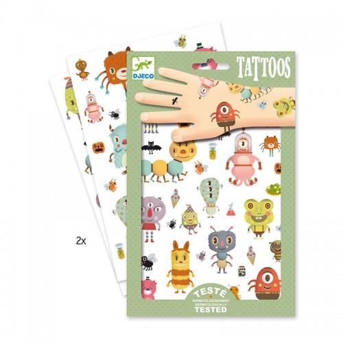 Tatouages: Monstres