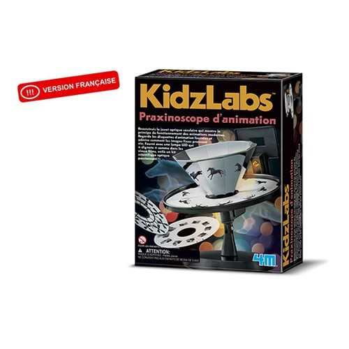 Kidzlab praxinoscope d'animation